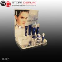 Custom beautiful Acrylic Counter Displays for skincare products Manufactures