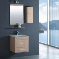 MDF Bathroom Cabinet with Mirror and Shelf Manufactures