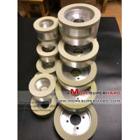 6A2 Vitrified Diamond Grinding Wheel for PCD Tools Vitrified Diamond Grinding Wheel -julia@moresuperhard.com Manufactures