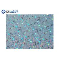 China Colorful Holographic Smart Card Material , Inkjet PVC Sheet For Plastic Card on sale