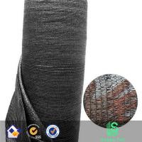 HDPE agricultural black color best quality greenhouse  sun shade net Manufactures