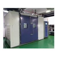 China Walk In Chamber Temperature Humidity Test Room , Inner Volume 8 Cubic Constant Temerature Room on sale