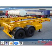 CIMC 20 feet container semi trailer Manufactures