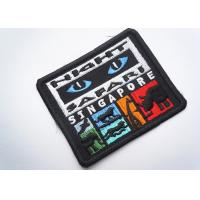 Rubber  Embroidered Clothing Patch Uniform Sew On For Badges Manufactures