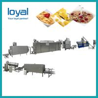 Fruit loops Crispy sweet honey corn flakes grain cereal snack food production process line machine plant China machinery Manufactures