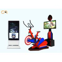 VR Bike Simulator / Virtual Reality Sports Games 12 Months Warranty Manufactures