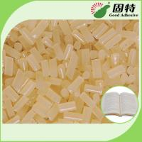 Eva Siding Hot Melt Adhesive / Vinyl Siding Industrial Hot Melt Glue In Yellow Manufactures