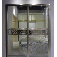 China Modern Design Aluminium Frame Glass Door Soundproof Commercial Sliding Doors on sale