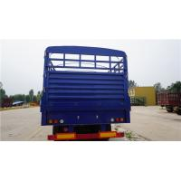 tri axle tons per 40 ft walle trucks fence cargo semi trailer - CIMC Manufactures