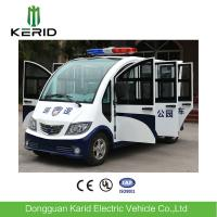 8 Seats Enclosed Electric Pick Up Car With Alarm Lamp Suits For City Walking Street Manufactures
