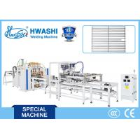 China Automatic Wire-Dropping Wire Basket Mesh Welding Machine With Bending Station on sale