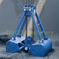 Easy Operation Two Peels Mechanical Grab Bucket Mechanism Manufactures