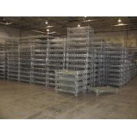 Stacking Racks Containers Wire Mesh Basket Steel Container Industrial Use Container Manufactures