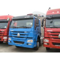 Bule Color HW76 Cabin Prime Mover Truck 371hp 10 Wheels 6x4 With Air Conditioner Manufactures
