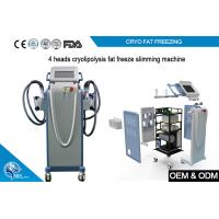 Non Invasive Cryolipolysis Machine Fat Freezing For Body Slimming with 4 handle Manufactures