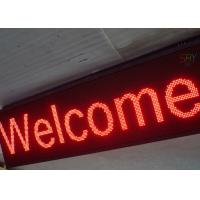 Aluminum Frame Programmable LED Scrolling Message Board For Shop Advertising Manufactures