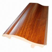 Decorative wood PVC skirting board for home Manufactures