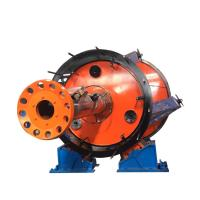 Underground Cable Laying Machine Red And Yellow Color With Large Cross Section Manufactures