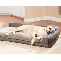 Waterproof  orthopedic dog bed ,Large Washable Memory Foam pet Bed , Outdoor Memory Foam Dog Bed Manufactures