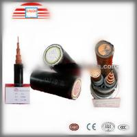 Electric High Voltage Power Cable HV / MV / LV / PVC / XLPE With Stranded Copper Conductor Manufactures