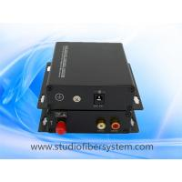 fiber optic stereo audio to RCA converter for 1CH stereo audio over 1 SM/MM fiber extender in professional AV system Manufactures