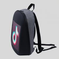 IP65 Waterproof Fashion Backpack With Led Lights P3.75 Smart New Media Manufactures