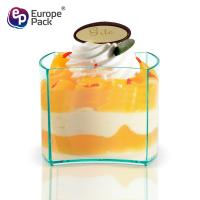 New arrival product saucers and Christmas disposable plastic cups for ice cream Manufactures