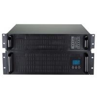 High frequency 3 KVA Rack mount online sine wave ups RJ45 , RS232 communation for security Manufactures