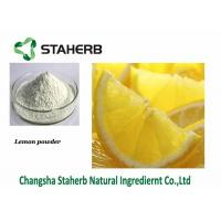 Quality Lemon Extract Dehydrated Fruit Powder 5% Citric Acid Vitamin C for sale