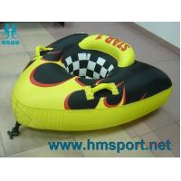 HMSPORT ski tube banana boat tubing, boting Boston valve for quick inflating and deflating Manufactures