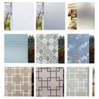 Decorative graphics see through window glass film for home decoration Manufactures