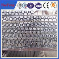 anodizing Aluminum Extrusion for Machine support frame(4040) Manufactures