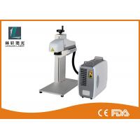 Quality 3D Dynamic Focus Metal Laser Marking Machine 200 X 200mm Lens For IPhone Cell for sale