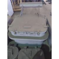 China Round Angles Marine Steel Hatch Cover Crude Oil Tanker Cover Customized on sale