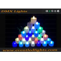 Decoration Plastic Color Changing Led Flameless Candles , Remote Control Manufactures