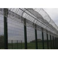 China High Security Prison Mesh Fence Panels / 358 Anti Climb Fence on sale