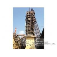 Mixed Fuel Calcination Equipment , 50TPD - 1000TPD Vertical Lime Kiln