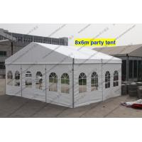 Waterproof Outdoor Show PVC Tents Aluminum Frame With Windows Manufactures