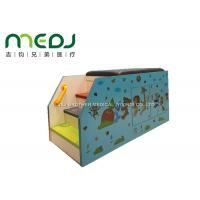Animal Party Pediatric Examination Table , Cartoon Pediatric Exam Table With Cabinet Manufactures