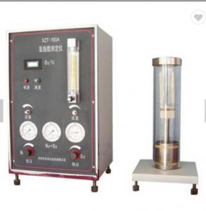 Oxygen Index Apparatus / Limiting Oxygen Index/ Limitation Oxygen Index Tester Manufactures
