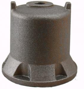 Stable Pump Parts Casting / Ductile Cast Iron Water Pump Engine Cover OEM