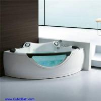 Whirlpool bathtub with speaker and glass front panel-FT-210 Manufactures
