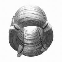 China High-tensile Steel Wire with Bright, Electro- and Hot-dipped Galvanized Surface Treatment on sale