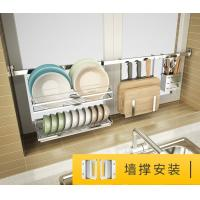Quality Wall Mounted Hanging Removable Kitchen Shelf Organizer For Microwave Oven for sale