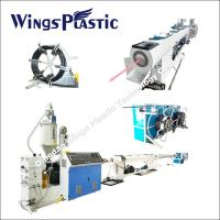 Quality PE 80 PE 100 Materials Pipe Extruder Machine / HDPE Pipe Production Line for sale