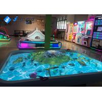 China Sandbox Interactive Projector Games Sand Table For Children SimulationSceneModel on sale