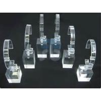 Transparent Rotating Acrylic Watch Display Stand With Laser Engraved Manufactures