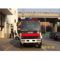 220V Lighting System Fire Chief Vehicle , 25L Fuel Tank Capacity Incident Command Vehicle Manufactures