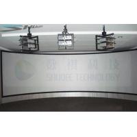 Panorama Sreen 5D Cinema Equipment Arc Screen with 6 Projectors Manufactures