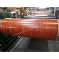 Anti Ultraviolet Colored Aluminum Roof Coil Sheets High Gloss Custom Size Manufactures